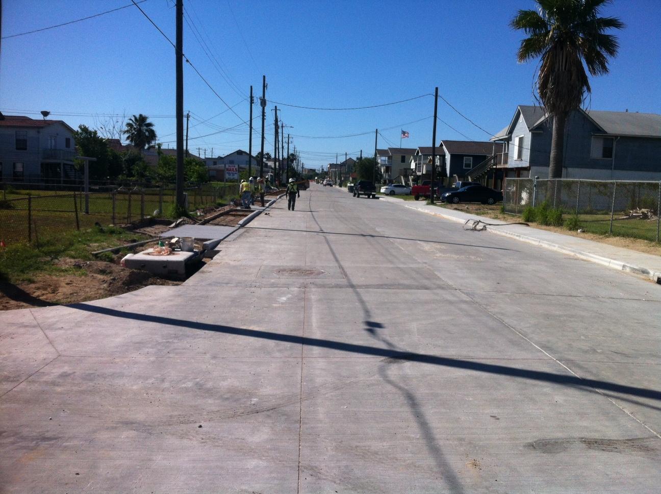 65th Street Reconstruction-Galveston, Texas