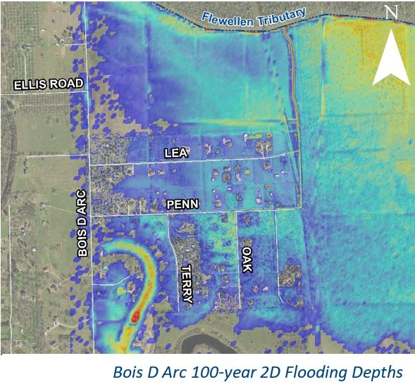 City of Fulshear Master Drainage Plan - Costello Engineering Project for municipal, drainage,