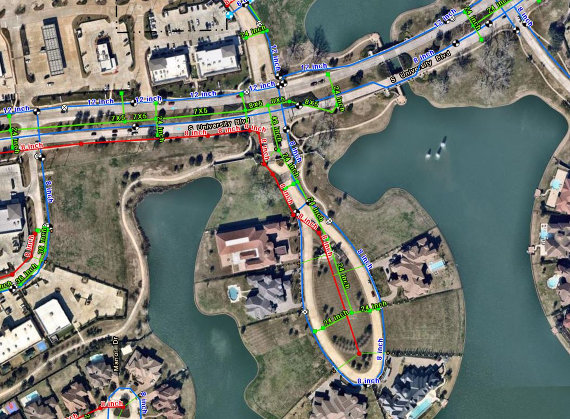GIS Mapping for Riverstone - Costello Engineering Project for gis,