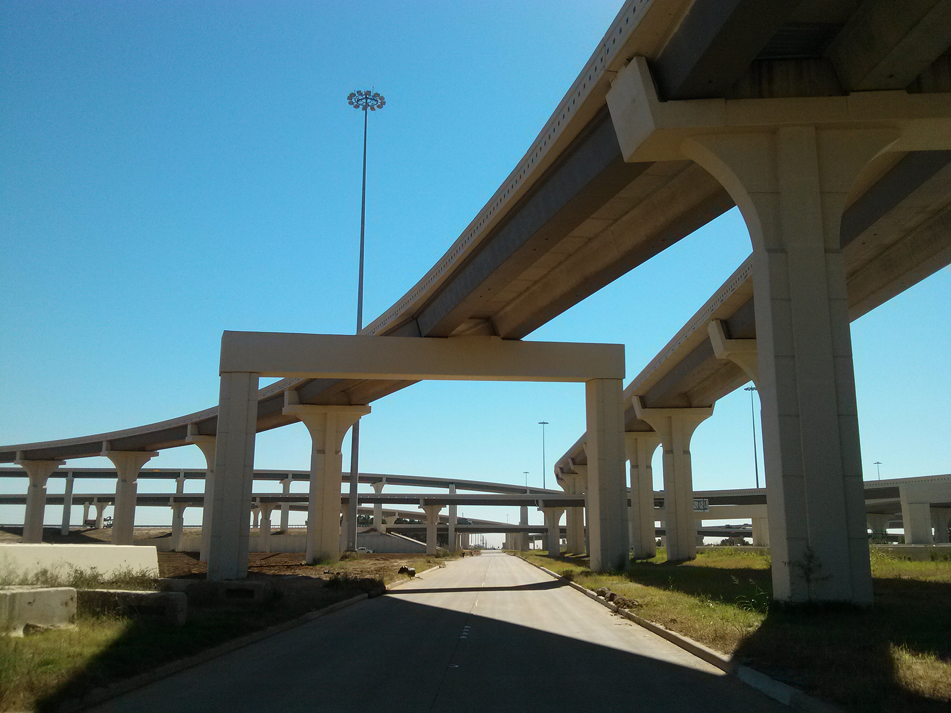 Grand Parkway & US 290 Interchange - Costello Engineering Project for structural+engineering,