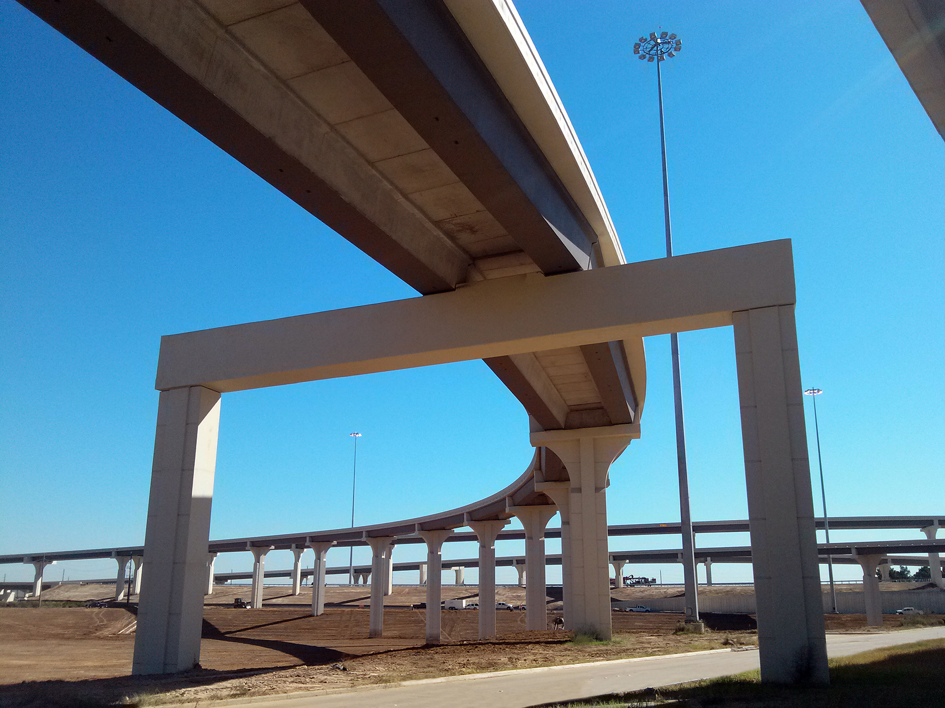 Grand Parkway & US 290 Interchange-Houston, Texas