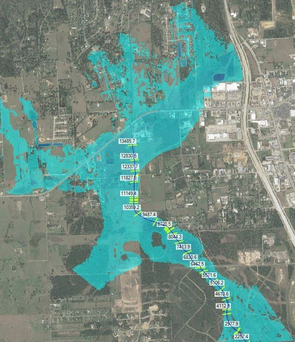 Hillegeist Gully (M124-00-00) Regional Drainage Master Plan - Costello Engineering Project for drainage,