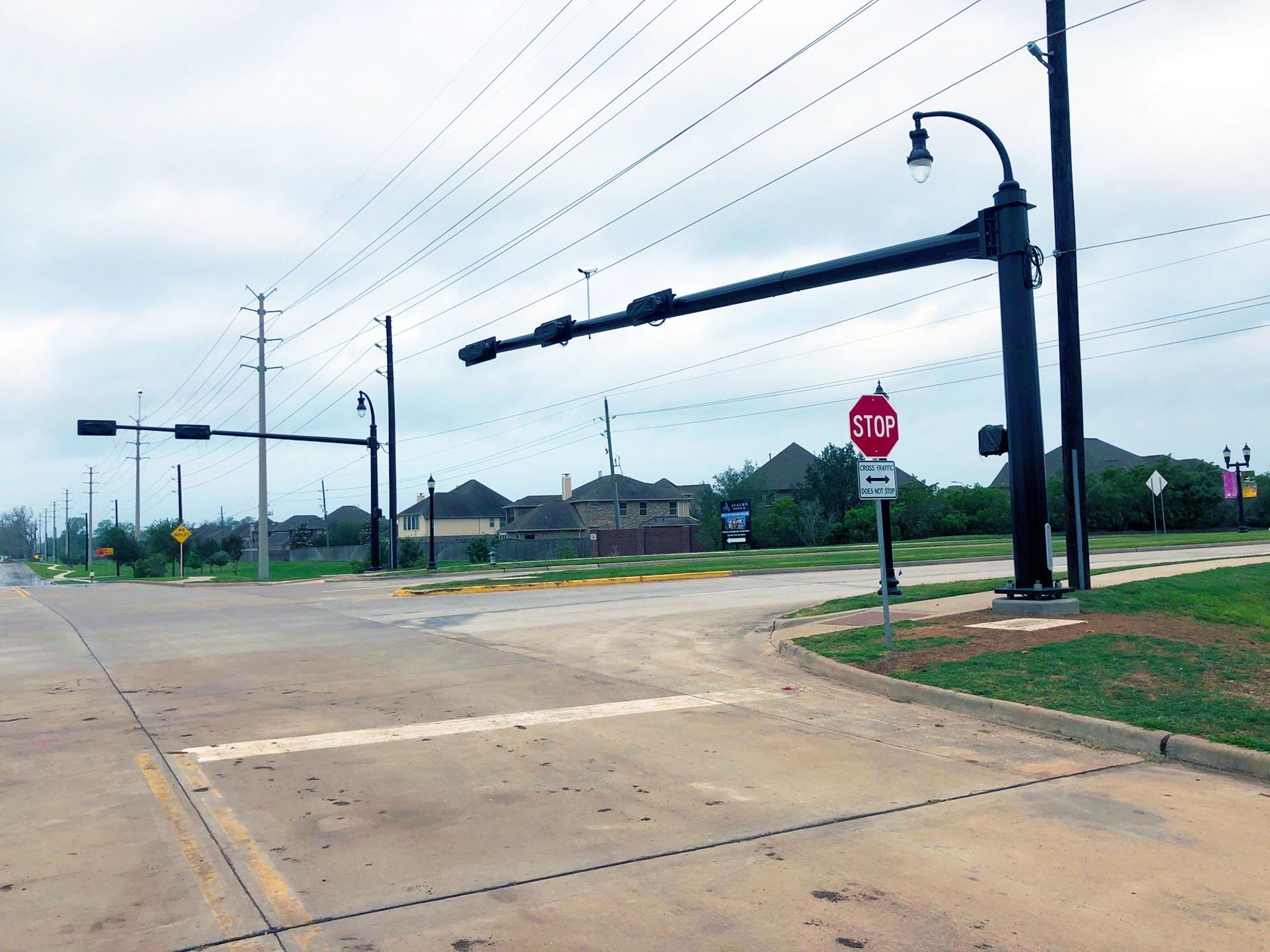 LJ Parkway at Hagerson Road Traffic Signal-Missouri City, Texas