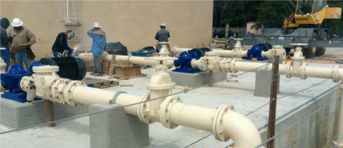 North Fort Bend Water Authority Booster Pump & Distribution System-Fort Bend County, Texas