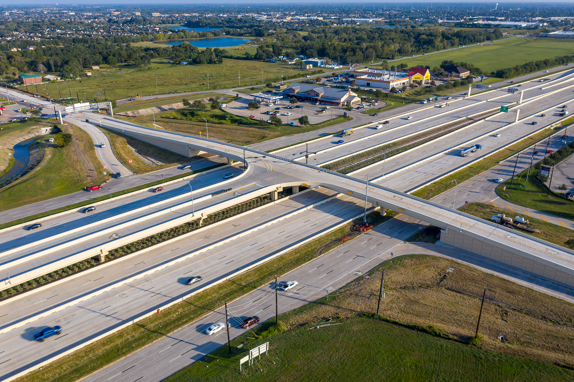 SH 288 T-Ramp - Costello Engineering Project for traffic+engineering, structural+engineering,