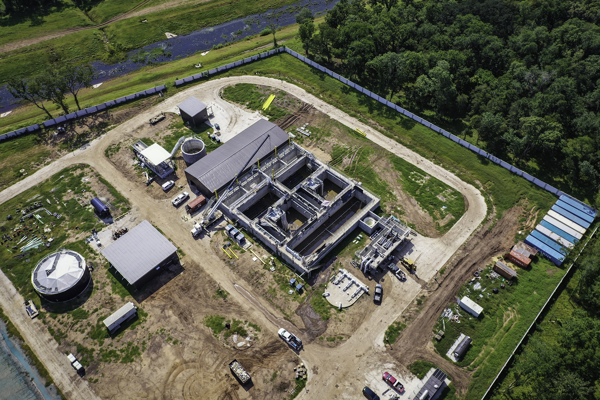 Sienna Plantation Wastewater System - Costello Engineering Project for wastewater, construction+management+services,