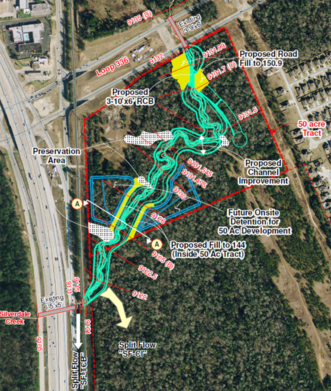 Silverdale Creek Improvements  - Costello Engineering Project for drainage, surveying,