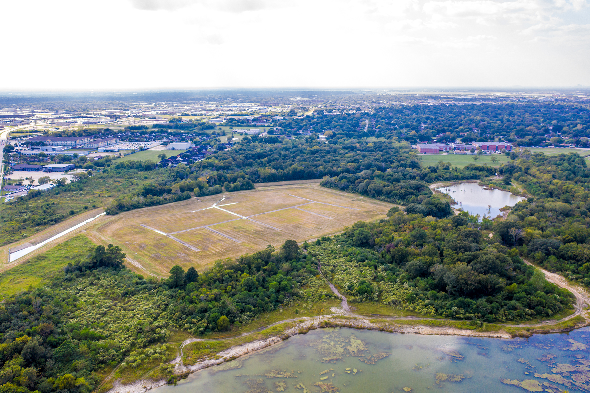 South Shaver Detention Basin - Costello Engineering Project for drainage,