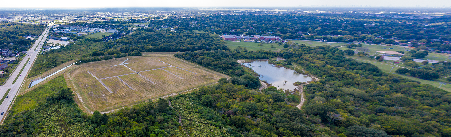 South Shaver Detention Basin-Harris County, Texas