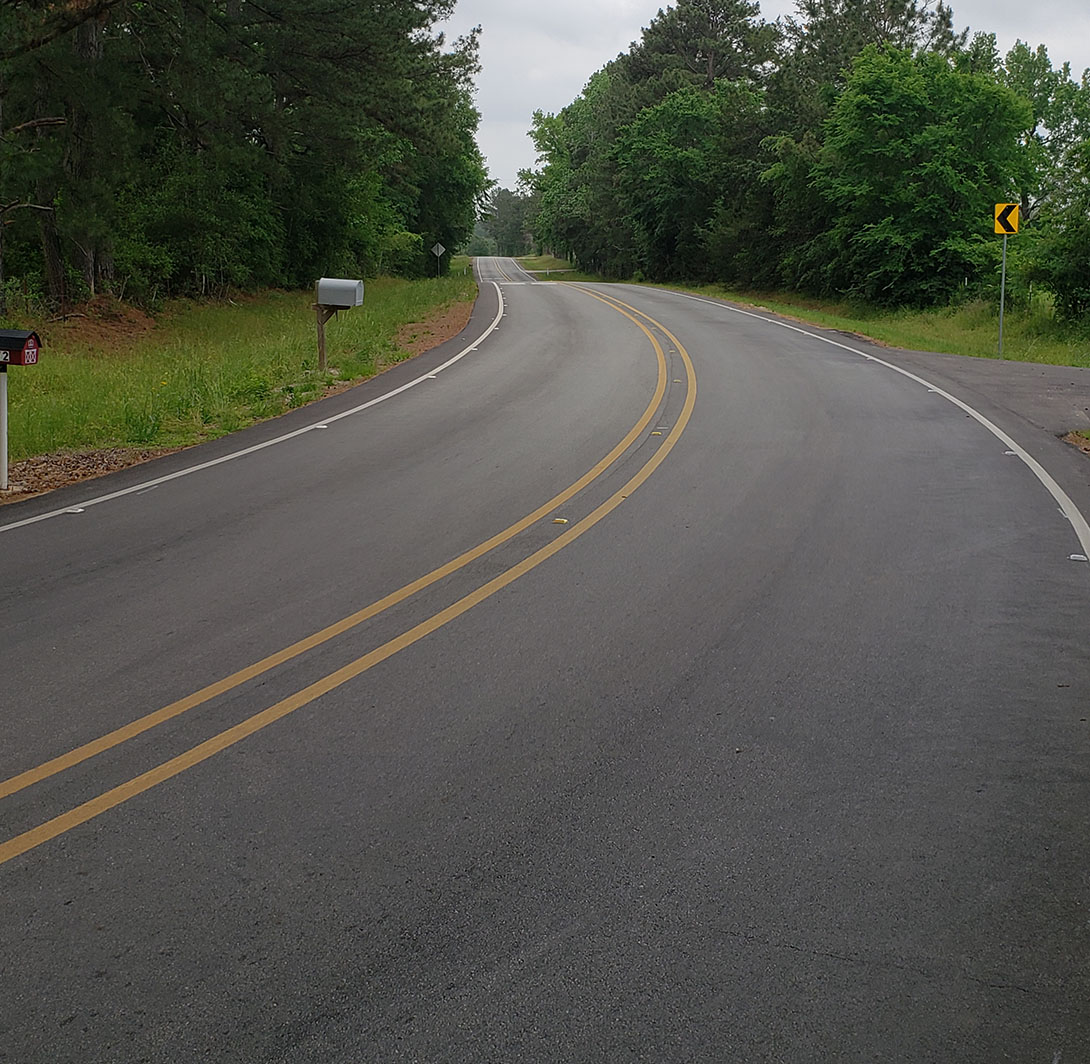 Spring Branch Road Widening - Costello Engineering Project for drainage, surveying, transportation, traffic+engineering,