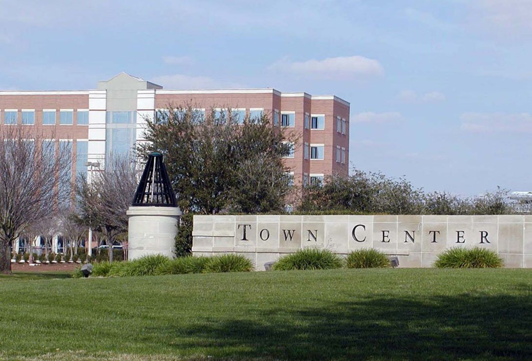 Sugar Land Town Center - Costello Engineering Project for residential+development, commercial+development, surveying,