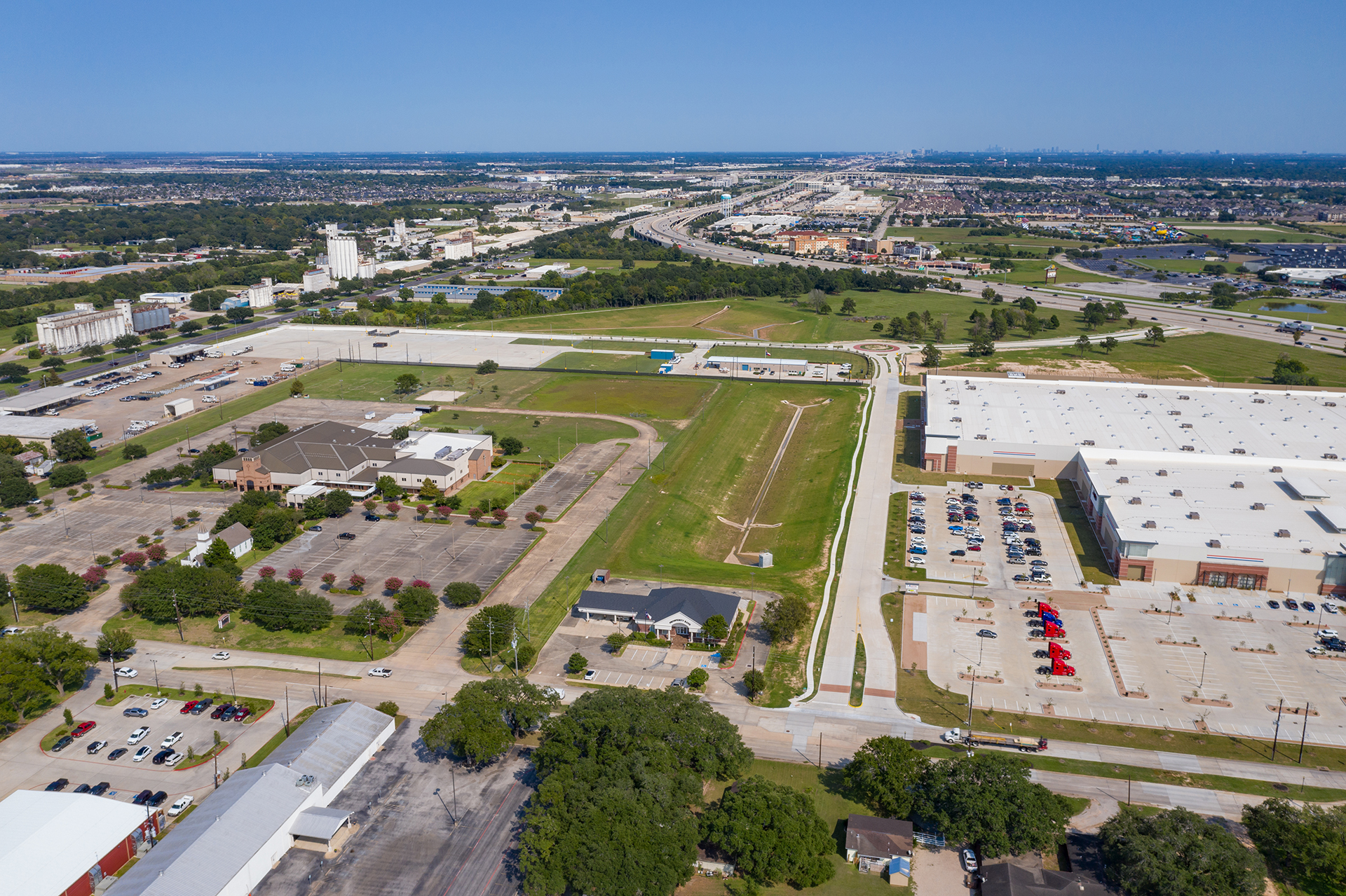 Village of Katy Development District - Costello Engineering Project for commercial+development, drainage, district+engineering, surveying, utility+engineering, traffic+engineering, construction+management+services,